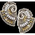 Viktoria Jurica - Spiral Earrings Earrings Yellow - Earrings -