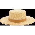beautifulplace - straw hat - Šeširi -