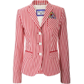 shortyluv718 - striped blazer - Jacket - coats -