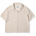 HalfMoonRun - striped shirt - Shirts -