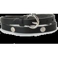JOURNAL STD(ジャーナルスタンダード) - IL BISONTE レザーバングル - Bracelets - ¥6,300  ~ $64.09