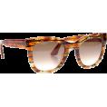 sanja blažević - Sunglasses Brown - Sunglasses -