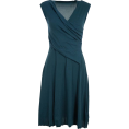 sandra  - teal dress - Obleke -