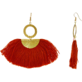 DotingSage - tkmaxx Burnt Orange & Gold Tone Tassel E - Orecchine - £9.99  ~ 11.69€