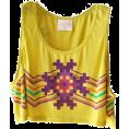 Doña Marisela Hartikainen - Yellow Top - Top -