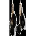 sandra  - topvintage feather earrings - Naušnice -
