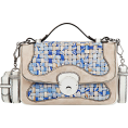 sandra24 - Blue Hand Bag - Hand bag -