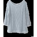 URBAN RESEARCH アーバンリサーチ - UR 綿麻混ケーブル編みプルオーバーニット - Pullovers - ¥11,550  ~ $117.51