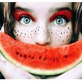 Doozer  - watermelon makeup - Messenger bags -