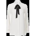 lence59 - white Shirt - Camisa - longa -