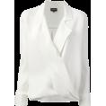 lence59 - white blouse Giorgio Armani - Рубашки - длинные -