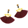 Doozer  - wine earrings - Earrings -