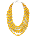 sharee64 - yellow necklace - Necklaces -