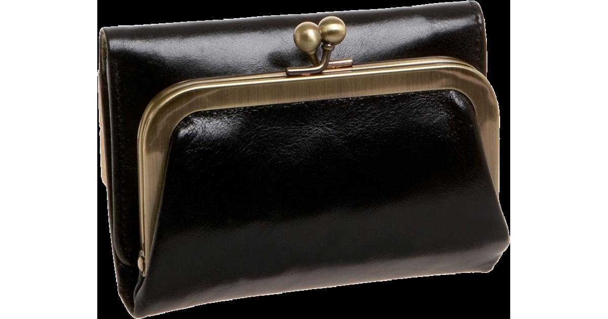 Black Nwt Women/'s Hobo International Leather Wallet Robin