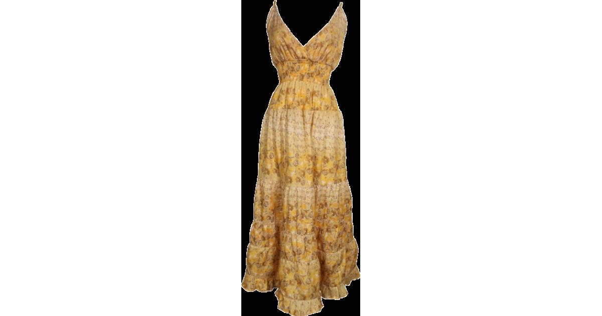 PacificPlex Dresses Tiered Floral Maxi Sundress $35.99 - trendMe.net