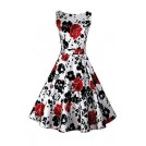 Acevog Dresses -  ACEVOG Cocktail Dress 1950's Floral Vintage Christmas Party Dress Plus Size
