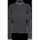 svijetlana2 Cardigan -  ACNE STUDIOS Ribbed turtleneck sweater