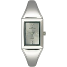 AK Anne Klein Часы -  AK Anne Klein Diamond Collection Bangle Grey Dial Women's watch #10/5463GYDI