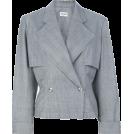 HalfMoonRun Jakne i kaputi -  ALAIA houndstooth jacket