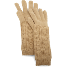 AK Anne Klein Manopole -  Ak Anne Klein Women's Solid Running Stitch Double Layer Glove Sable