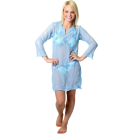 Alki'i Tunic -  Alki'i Misses Long Sleeve Tunic Cover up/Dress Turqouise