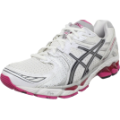 ASICS Sneakers -  ASICS Women's GEL-Kayano 17 Running Shoe White/Carbon/Magenta