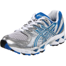 ASICS Sneakers -  ASICS Women's GEL-Nimbus 12 Running Shoe Titanium/Maui Blue/Lightning