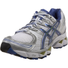 ASICS Tenisówki -  ASICS Women's GEL-Nimbus 12 Running Shoe White/Delphinium/Kiwi