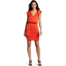 BCBGeneration Dresses -  BCBGeneration Women's Ruffle Strapp Dress Cayenne
