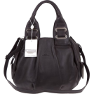 Bruno Rossi Bag -  BRUNO ROSSI Italian Made Black Calf Leather Satchel Shoulder Bag