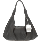 Bruno Rossi Bag -  BRUNO ROSSI Italian Made Gray Calf Leather Hobo Bag