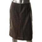 Jones New York Saias -  Jones New York Collection Printed Linen Straight Skirt Sale 10