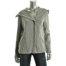 Jones New York Long sleeves t-shirts -  Jones New York December Jacket Top Gray BHFO Sale Misses Shirt L