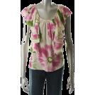 Karen Kane Top -  Karen Kane Knit Top Ivory Silk Sale Misses Shirt XS