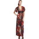 Sky Dresses -  Sky Women's Gretal Feather Print Maxi Dress