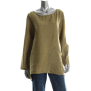 Jones New York Long sleeves t-shirts -  j Jones New York Green Slub Blouse Sale Top S
