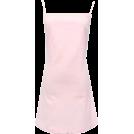 FECLOTHING Dresses -  BACK BOW BASIC DRESS