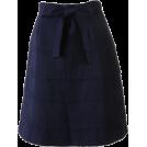 BEAMS(ビームス) Skirts -  BEAMS リボンティアードスカート_