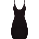 helloexo Vestidos -  BLACK BODYCON DRESS