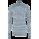 glamoura Pullovers -  BOTTEGA VENETA Wool turtleneck sweater