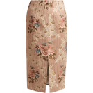beautifulplace Skirts -  BROCK COLLECTION  Sorrel floral-jacquard