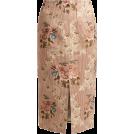 beautifulplace 裙子 -  BROCK COLLECTION  Sorrel floral-jacquard