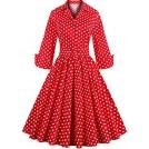 Babyonlinedress Dresses -  Babyonline Retro Vintage Women Dresses 1950s Rockabilly Audrey Hepburn Gown