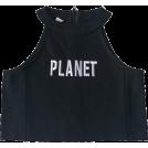 FECLOTHING Tanks -  Back zipper sleeveless sling top