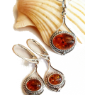 Sabaheta Other jewelry -  Baltics amber earrings, amber jewelry, s
