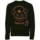 Cole Haan Camicie (corte) -  Batch1 Men's Halloween Pump It Up Pumpkin Printed Fancy Dress Sweatshirt Jumper