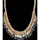 pwhiteaurora Necklaces -  Beaded Fringe Seedbead Necklace