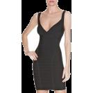 My Lulu Closet Dresses -  Black Open Back Bandage