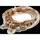 Bev Martin Braccioletti -  Boho Wrapped Bracelet