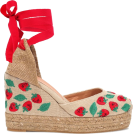beautifulplace Wedges -  CASTAÑER Carina embroidered wedge espadr